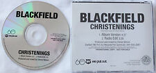 Blackfield  Christenings II CD  promo PORCUPINE TREE Steven Wilson