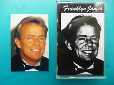 """FRANKLYN JAMES  """" FRANKLYN JAMES  """"  CASSETTE ( SMALL SIGNED PHOTO INCLUDED )"""