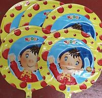 Mega Lot 5 Noddy Helium Foil Balloons Wholesale Job Lot clearance