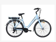 Electric city Universal Bike Overfly Blue Athena Power Assistance Bicycle