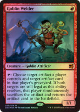 Foil Magic: The Gathering Commander Individual Collectable Card Game Cards