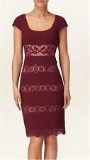 Phase Eight Bessie Lace Boarder Dress Size 8 Re076 EE 07