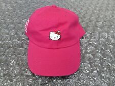 ASSC x Hello Kitty Cap Hat Anti Social Social Club Hot Pink 2018 NEW IN STOCK!!