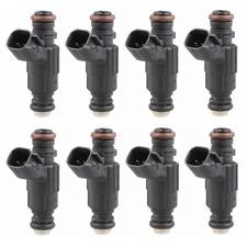 New(8) 52lb 550cc Fuel Injectors For Dodge Chrysler Hemi 5.7 6.1 300c SRT8