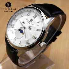 Edward East Mens Genuine Moon Phase Watch Miyota 6P80 Movement New RRP £490