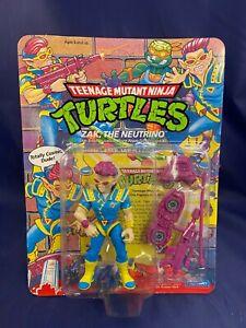 VINTAGE TMNT Zak the Neutrino Teenage Mutant Ninja Turtles Mint MOC!