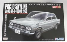 Fujimi 1969 / 1970 Nissan PGC10 Skyline 2000GT-R 4-Door Car in 1/24 3858 ST