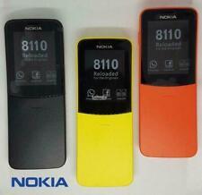 Nokia 8110 Banana Brand New 2G Chinese Cheap Basic Phone Unlocked Curved Mobile