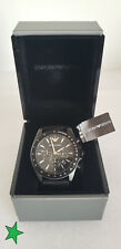 Emporio Armani Men's Sigma AR6131 Black Quartz Fashion Watch
