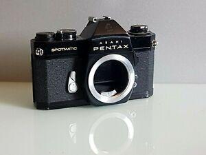 Asahi Pentax Spotmatic SP II Analog Spiegelreflex Kamera Gehäuse Camera Body M42