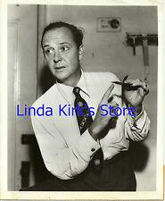 "John Daly Photograph ""It's News To Me"" Holding ""Tetradedron"" CBS-TV 1951"