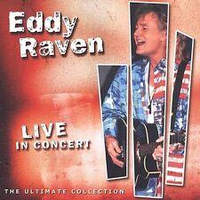 "EDDY RAVEN, CD ""LIVE IN CONCERT"" NEW SEALED"