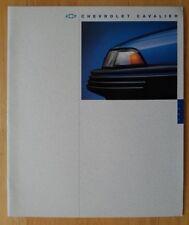 CHEVROLET Cavalier 1994 range deluxe brochure catalog - VL RS Z24