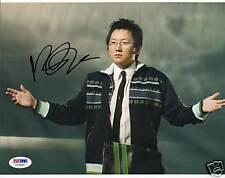 Masi Oka Signed Auto RARE Heroes 8x10 Photo PSA/DNA COA