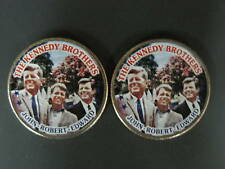 Colorized Kennedy Collection Half Dollar Pair
