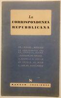 "RSI ""LA CORRISPONDENZA REPUBBLICANA"" N° 8 Libro 1944 XXII° Rep. Soc. Italiana"