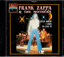 Frank Zappa & The Mothers - Little House I Used To Live Rare CD 'On Stage' 1992