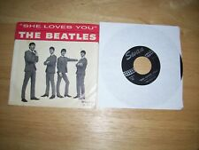 THE BEATLES She loves You Swan S-4152 w/pic-Sleeve Nm