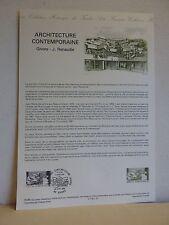 Premier jour * Fiche Musée postal * Jean RENAUDIE * Givors Architecture