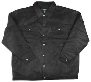 9 Crowns Men's Big and Tall Textured Print Jacket