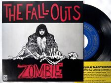Fall-Outs ZOMBIE Flathead HERE COMES THE ZOMBIES 1995 NW garage punk split 7""