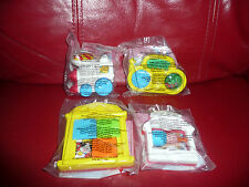 MCDONALDS FISHER PRICE TOYS - SET OF 4 TOYS- SEE PHOTOS