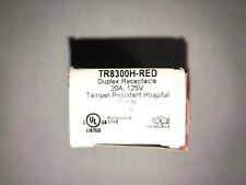 10 each NEW Pass & Seymour 8300HRED TR-8300HRED-Tamper-Resistant  FREE SHIPPING
