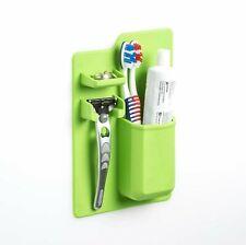 Silicone Mighty Razor Toothbrush Holder Bathroom Storage Space Shower Organiser