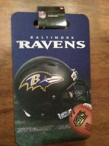Baltimore Ravens Seat/Multi Purpose Cushion 10 x 17 NFL licensed --Brand New