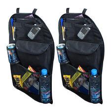 2 x Car Back Seat Organiser Multi Pocket Storage Travel Tidy Bag Holder Kids Toy