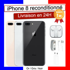 APPLE IPHONE 8 64 GO 256GO BON ETAT ROSE BLANC NOIR ROUGE DEBLOQUE RECONDITIONNE