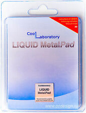 CoolLaboratory Liquid Metal Pad 20mm x 20mm For NVIDIA & AMD GPU Video Cards