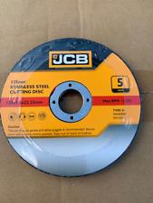 "JCB (5"") 125mm 1.2mm Thin stainless steel metal cutting (8377) JobLot 50 Disc's"