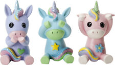 See, Speak and Hear No Evil Unicorns Figurines