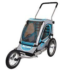 Allen Sports SST1 Steel 1-Child Jogger & Bicycle Trailer Blue