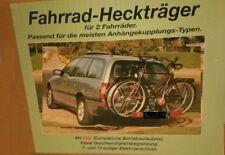 Fahrradheckträger für Anhängekupplung, Heckträger, Fahrradträger