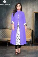Indian Pakistani Women Girls Kurta Kurti All Season Daily Dress Ethnic Look New