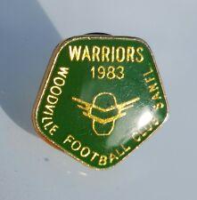 WOODVILLE WARRIORS 1983 Membership Badge/Pin SANFL Members