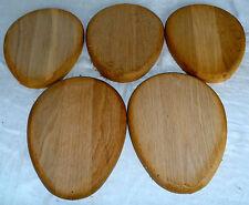 240x190x20mm 5pcs lot 577 chêne forme de l'oeuf SIGNE board tournage sur bois figuré bois