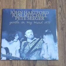 JOHN HARTFORD JONI MITCHELL PETE SEEGER - GENTLE ON MY MIND 1970 NEW 180g LP NEW