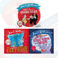David Walliams Collection 3 Books Set Pack (The First Hippo on the Moon)
