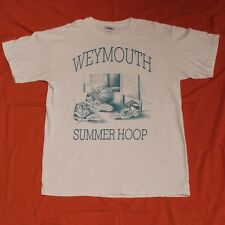 VINTAGE Converse All Stars Cons T-Shirt Weymouth Mass Basketball Men's M