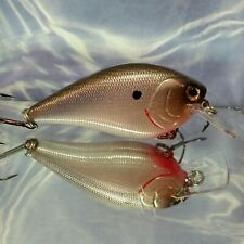 New listing Custom painted Lc 2.5 square bill crankbait, painted Shad / Herring chatterbait