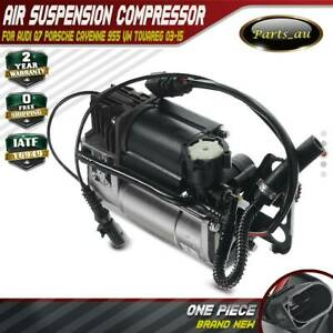 Air Suspension Compressor for Audi Q7 Porsche Cayenne 955 VW Touareg 2003-2015