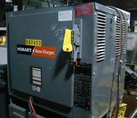 hobart accu charger forklift 12 volt dc battery charger 865c3 6 ebay rh ebay com Hobart Service Manuals Hobart 36 Volt Battery Charger Weight