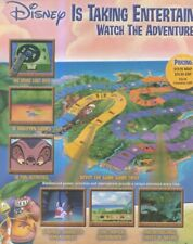 "(HFBK10) POSTER/ADVERT 26X11"" LILO & STITCH : ISLAND OF ADVENTURE"