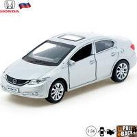 Diecast Car Scale 1:36 Honda Civic Russian Model Cars