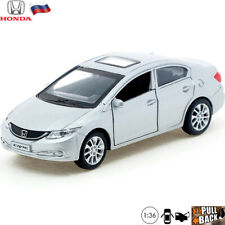 Diecast Car Scale 1:36 Honda Civic Russian Model Cars