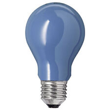 CROMPTON 15W ES/E27 BLUE COLOURED INCANDESCENT GLS BULB - PACK OF TWO