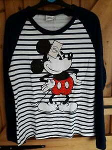 Ladies Disney Mickey mouse NEW Top Size 10